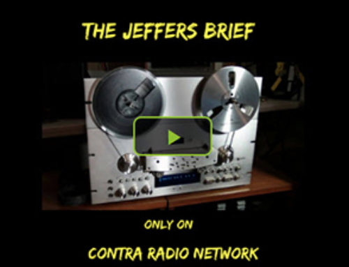 Contra Radio Network – The Jeffers Brief: Glen and Shelby Tate Interview Pt 2
